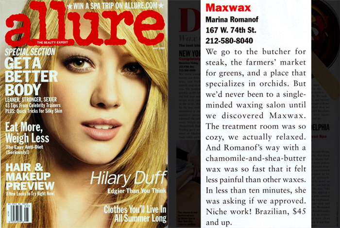 Allure May 2008