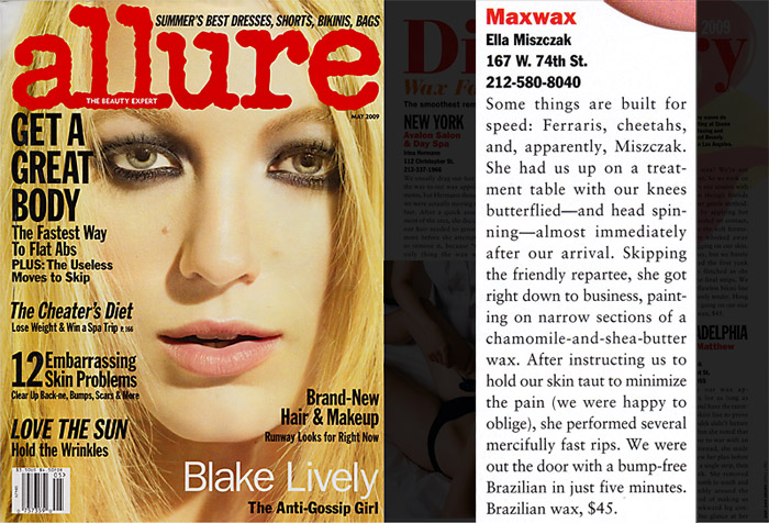 Allure May 2009